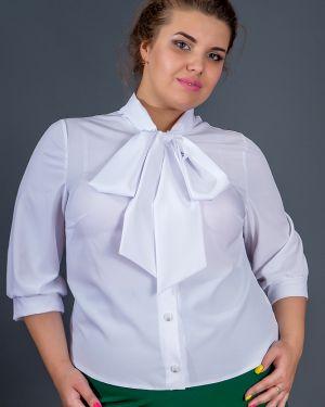 Блузка с бантом классическая Belirini