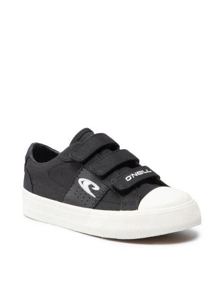 Sneakersy na rzepy - czarne O'neill