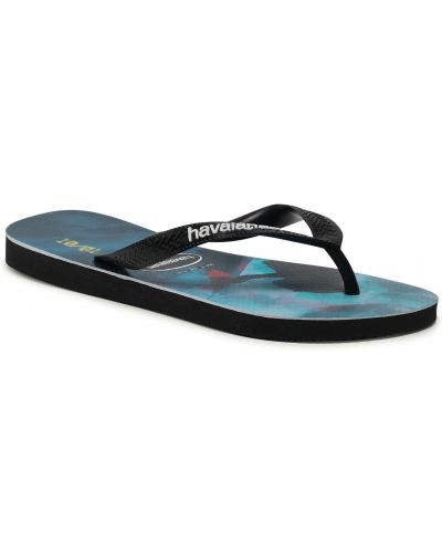 Czarne sandały na lato Havaianas