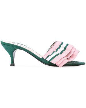 Мюли на каблуке Leandra Medine