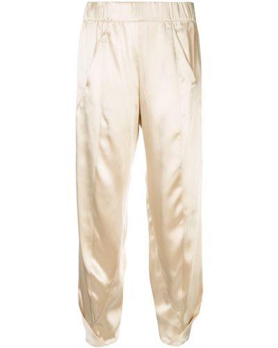Укороченные брюки - коричневые Zero + Maria Cornejo