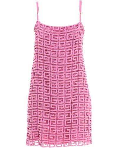 Sukienka mini - różowa Givenchy