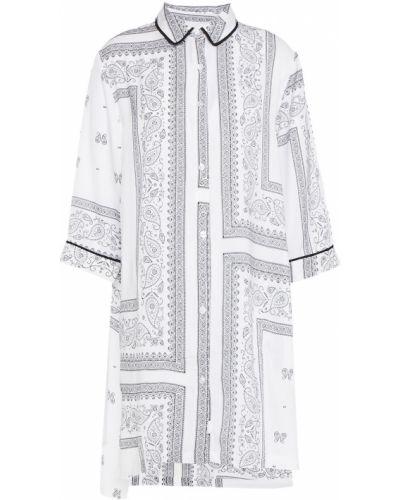 Biała koszula nocna vintage Dkny
