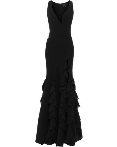 Вечернее платье с декольте макси Philipp Plein