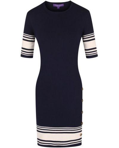 Платье мини вязаное на пуговицах Ralph Lauren