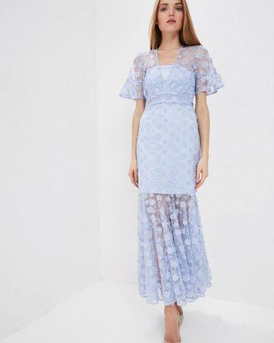 Вечернее платье - голубое Three Floor