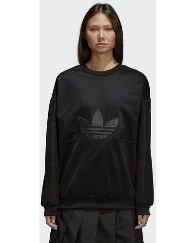 Черный свитшот Adidas Originals