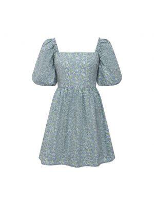 Хлопковое платье - голубое Faithfull The Brand