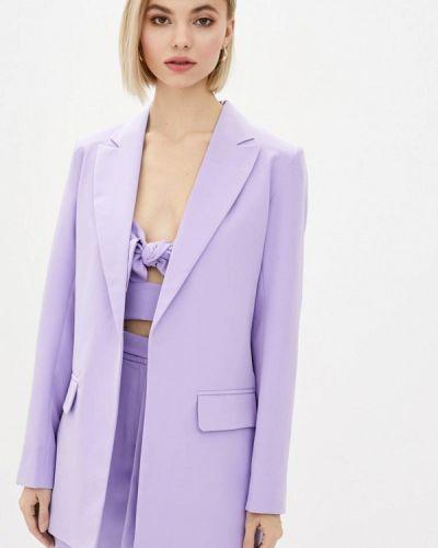 Фиолетовый пиджак Zubrytskaya