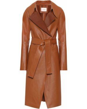 Коричневое пальто Dorothee Schumacher