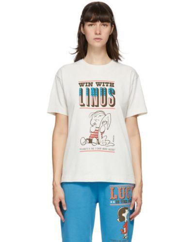 С рукавами белая рубашка с воротником Marc Jacobs