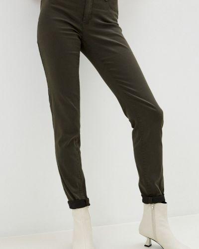 Повседневные зеленые брюки Naf Naf