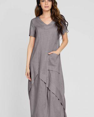 Платье платье-сарафан с вырезом D`imma Fashion Studio