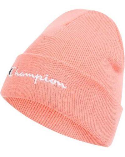 Różowy miękki czapka baseballowa Champion