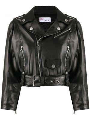 Czarna kurtka bawełniana Redvalentino
