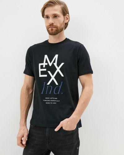 Черная футболка осенняя Mexx