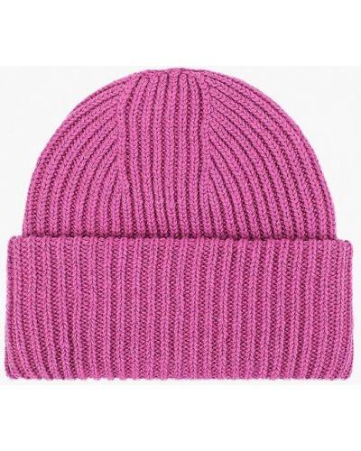 Фиолетовая шапка осенняя Forti Knitwear