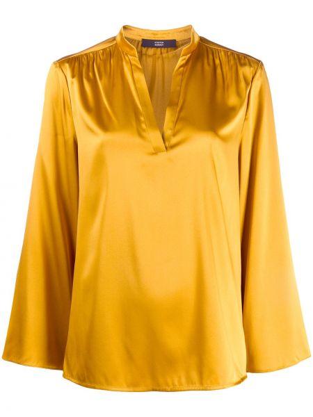Шелковая блузка - желтая Steffen Schraut