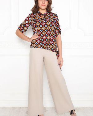 Блузка с бантом с завязками Lautus