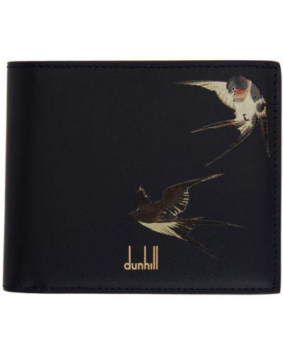 Czarny portfel skórzany Dunhill