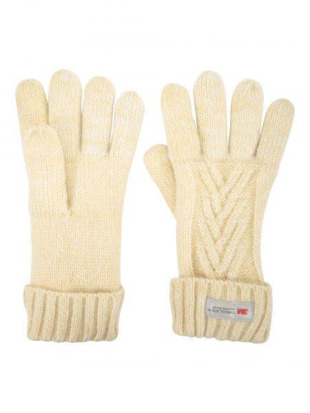 Rękawiczki materiałowe - beżowe Mountain Warehouse