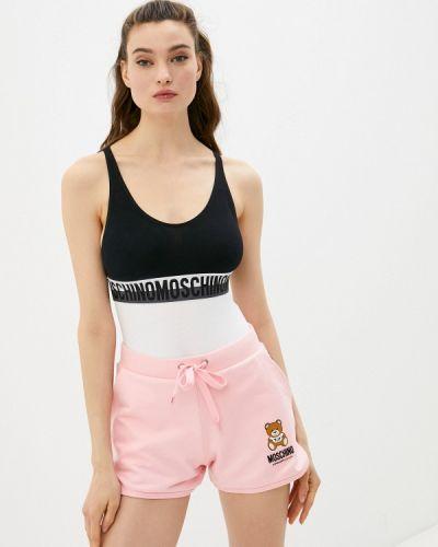 Черный топ Moschino Underwear