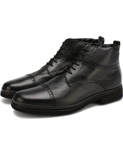 Кожаные ботинки броги с подкладкой Aldo Brué