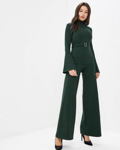 Зеленый брючный костюм Trendyangel