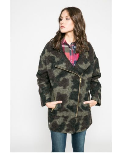 Утепленная куртка с карманами милитари Femi Stories