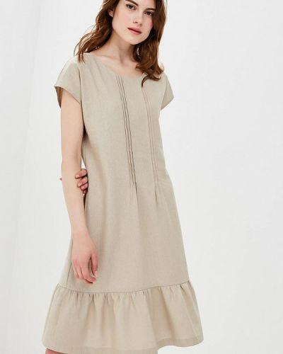 Бежевое платье Eliseeva Olesya