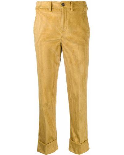 Брюки вельветовые брюки-хулиганы Incotex