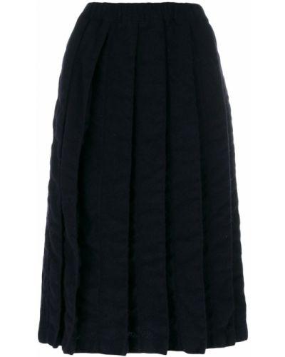 Плиссированная юбка шерстяная Comme Des Garçons Comme Des Garçons