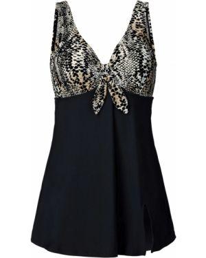 Пляжное платье с декольте купальное Bonprix