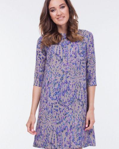 Серое повседневное платье Vladi Collection