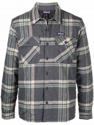 Серая рубашка на пуговицах Patagonia