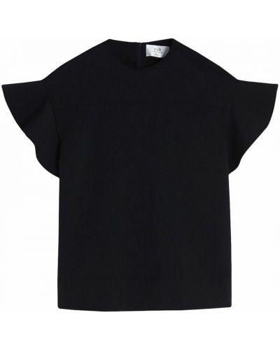 T-shirt - czarna Victoria Beckham