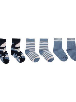 Niebieskie skarpety bawełniane Il Gufo
