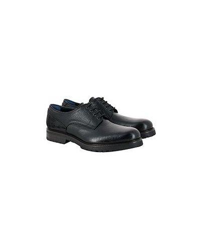 Черные кожаные полуботинки A.testoni