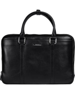Черная кожаная сумка Baldinini