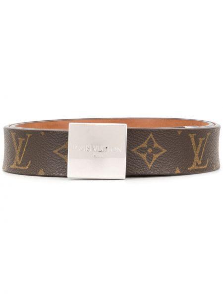 Pasek skórzany z klamrą Louis Vuitton