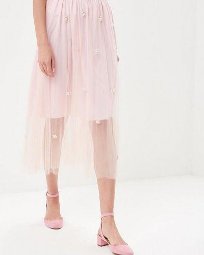 Юбка розовая Paccio