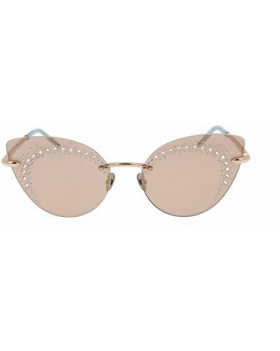 Brązowe okulary Pomellato