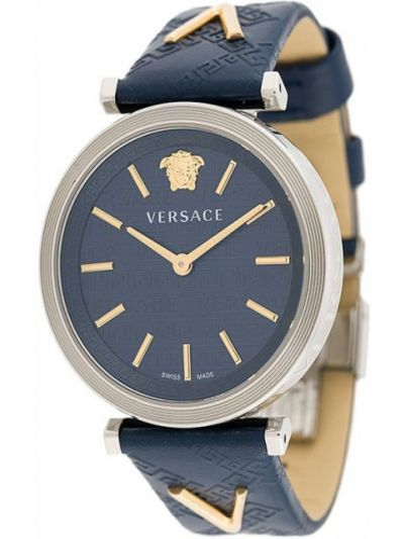Zegarek do twarzy okrągły Versace