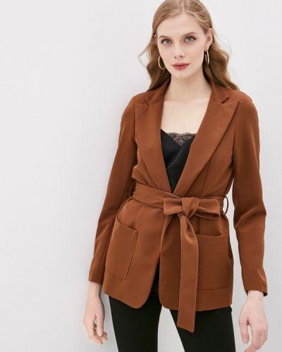 Коричневый пиджак Please