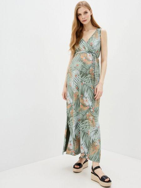 Платье для беременных с запахом весеннее Mama.licious