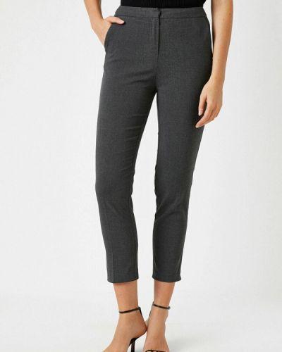 Серые классические брюки Koton