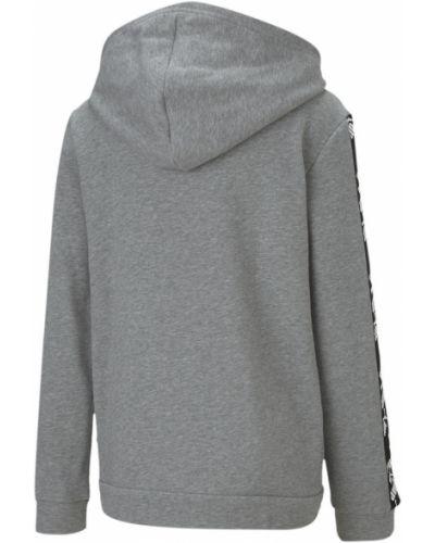 Куртка с капюшоном - серая Puma