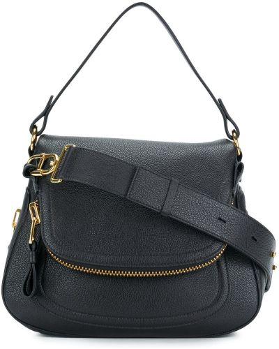 Кожаный сумка на плечо из полиэстера Tom Ford
