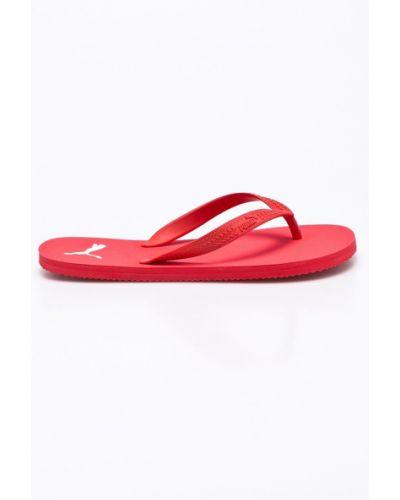 Красные сандалии Puma