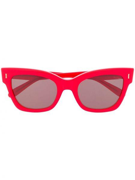 Złote okulary Mulberry